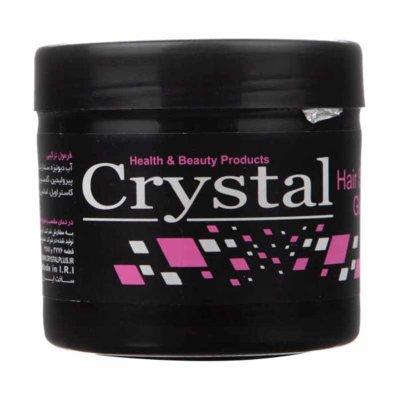 چسب مو کریستال Crystal Beauty Styling Glue حجم 200 میلی لیتر